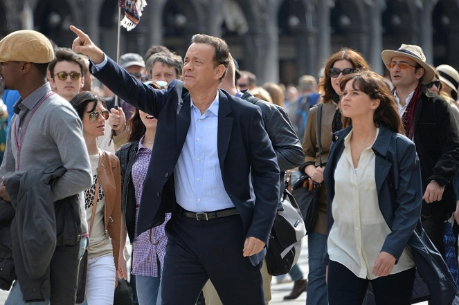 Shooting of the movie 'Inferno' in Venice