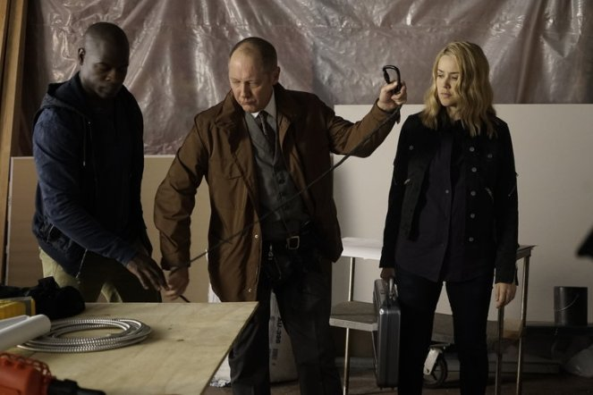 "THE BLACKLIST -- ""Sir Crispin Crandall"" Episode 306 -- Pictured: (l-r) -- (Photo by: Peter Kramer/NBC)"